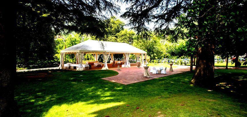 Jardines para tu boda