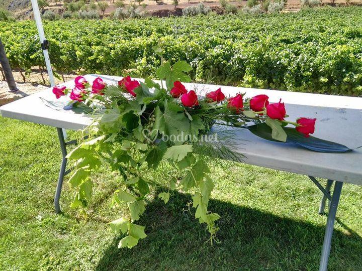 Adorno floral