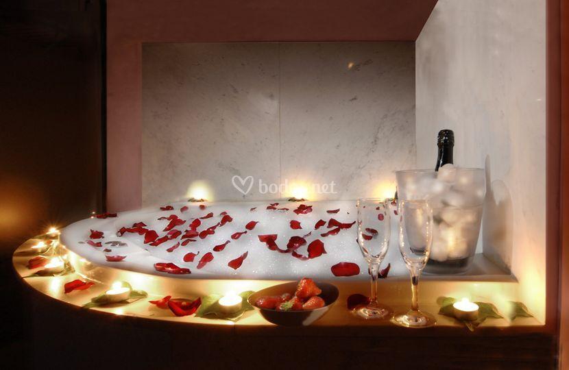 Baño de flores