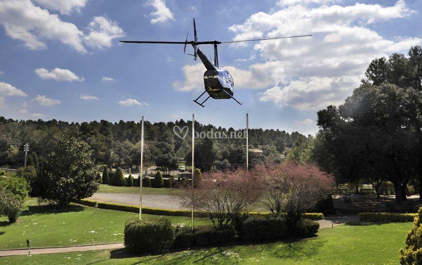 Helipuerto para helicópteros