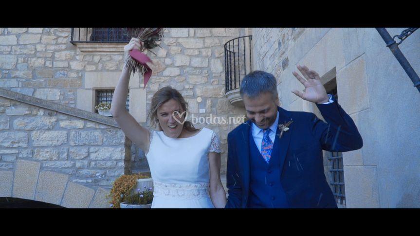 ¡Un frame del vídeo!