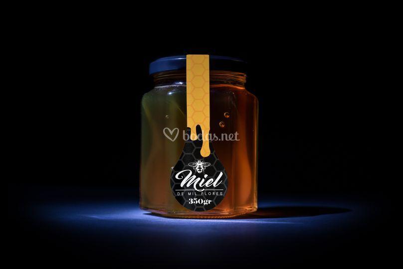 Miel milflores 350 gramos