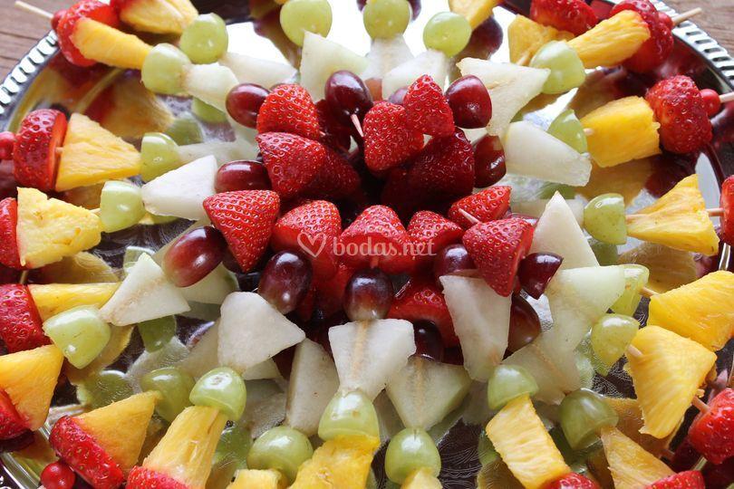 Pichos de frutas