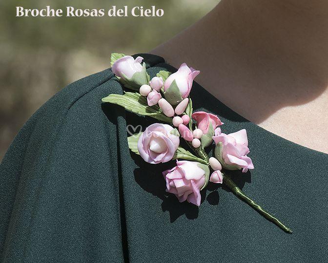 Broche Rosas