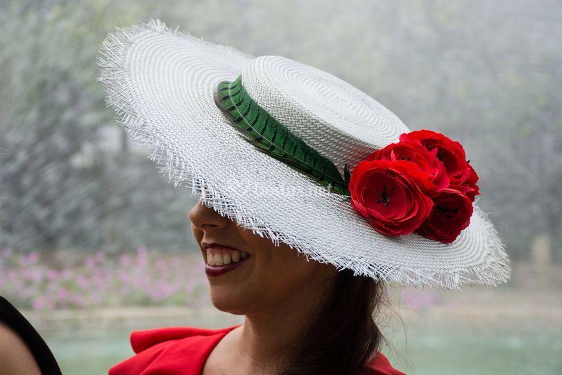 Chevalier plata y rosas rojas