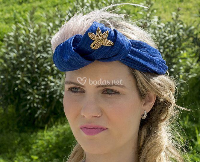 Turbante Azul de Liz