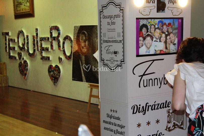 Funnybooth - Fotomatón y Photocall