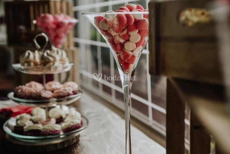 Nuestras mesas dulces