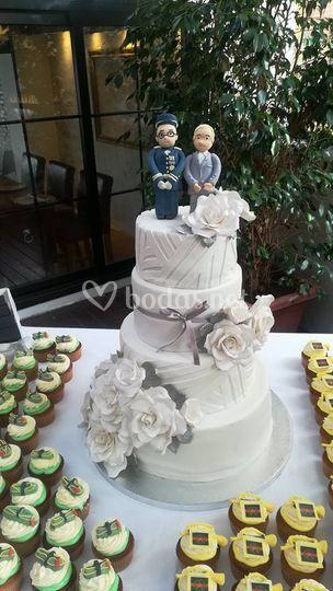 Tarta + cupcake