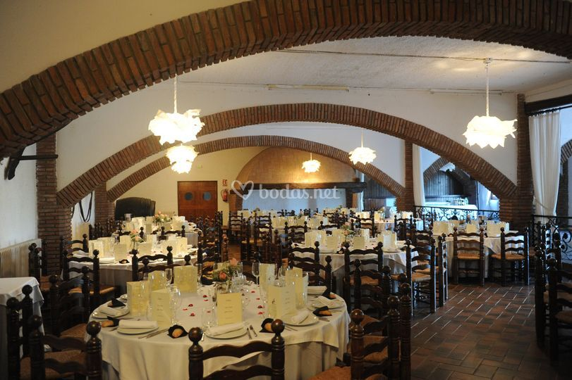 Banquete en el salón El Celler