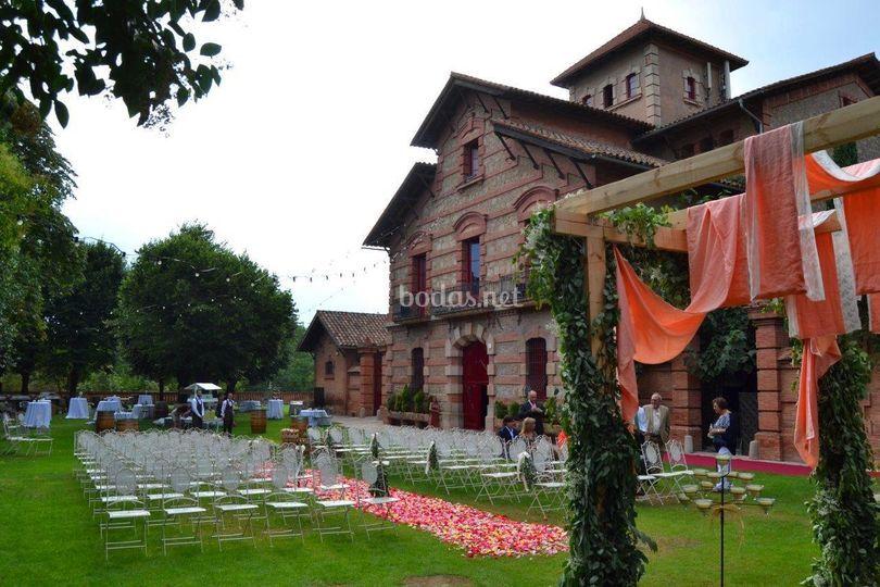 Jardines - Ceremonia