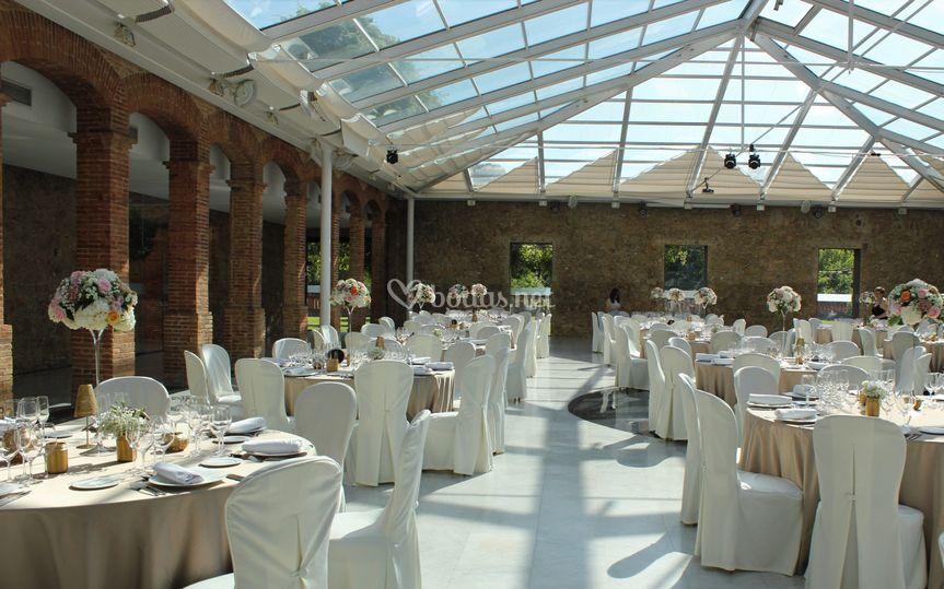 Salón de Cristal - Banquete