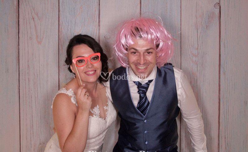 Photomatón Javier & Lara