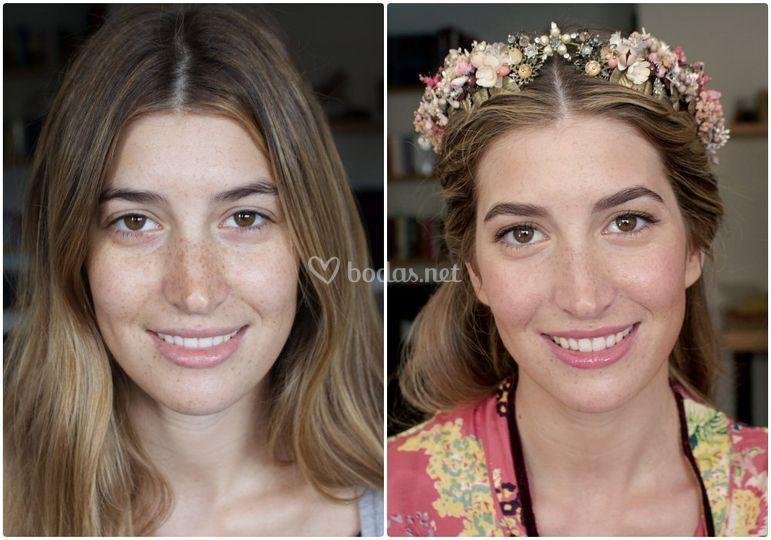 Makeup de Lourdes