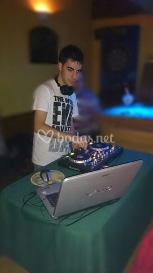 El DJ en directo