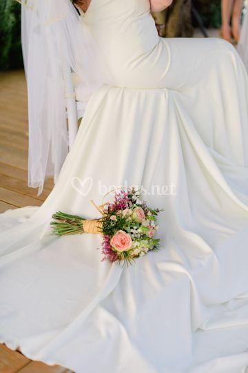 Vestido precioso de novia