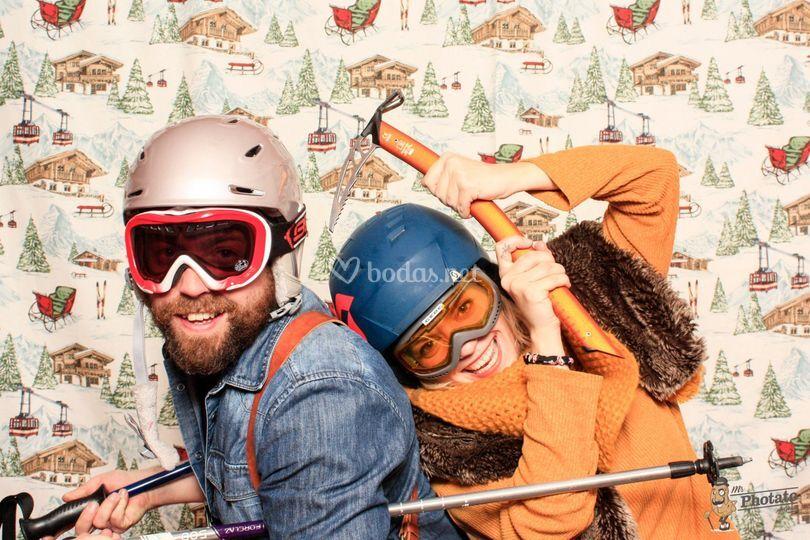 ¿Esquiamos?