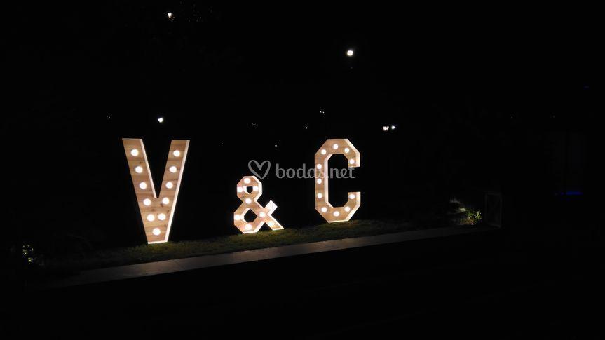 Letras Iniciales Noche