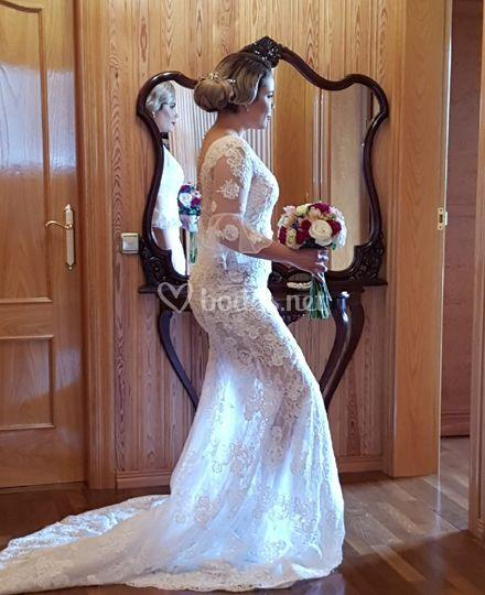 Confección de vestidos de novia