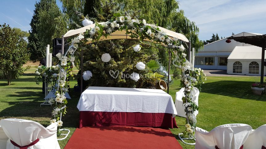 Altar de ceremonia civil