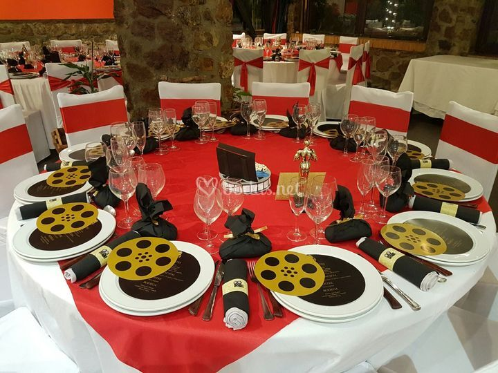 Banquetes de película