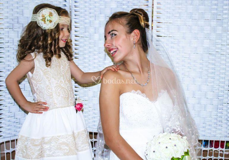 Vestido de arras y de novia