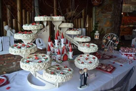 Tarta de ensueño para la boda