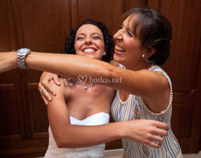 Risas entre amigas