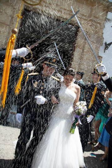 Aroa & Fran el día de su boda