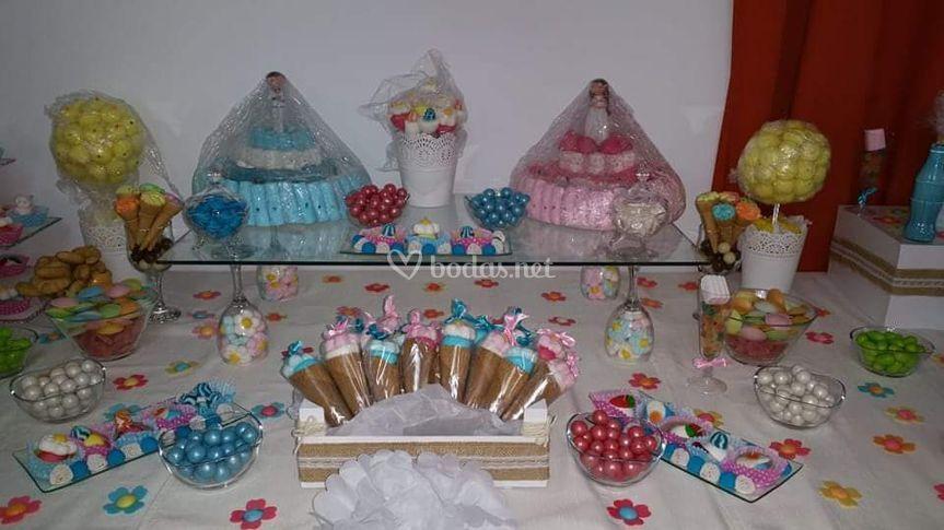 Mesa dulce mixta