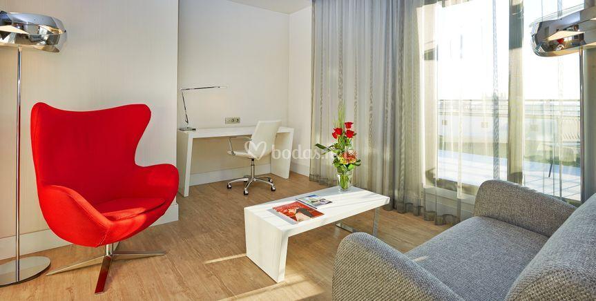 Junior suite salón