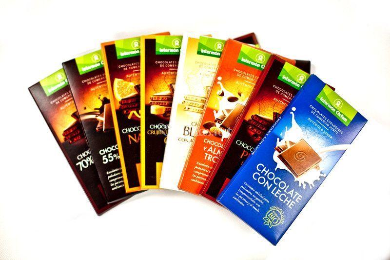 Gama de chocolates
