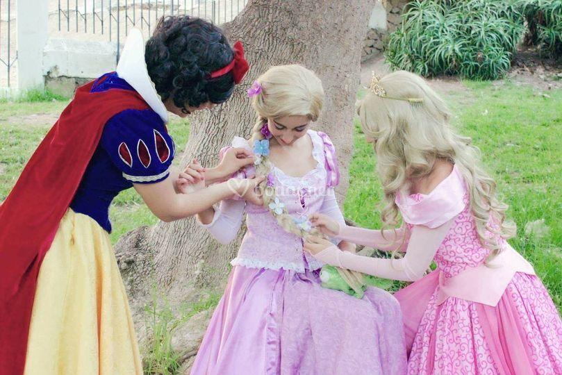 Blnacanieves Rapunzel Aurora