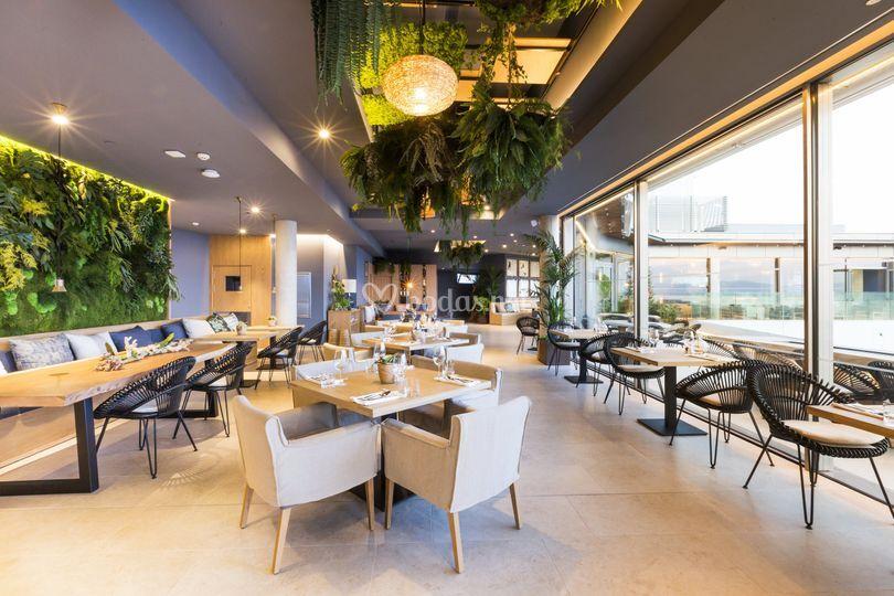 Restaurante ático Katagi Blau