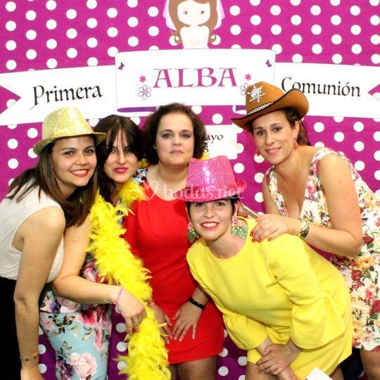 Fotomatón comunión Alba