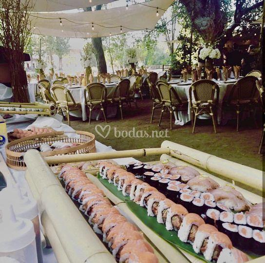 Rincón de boda