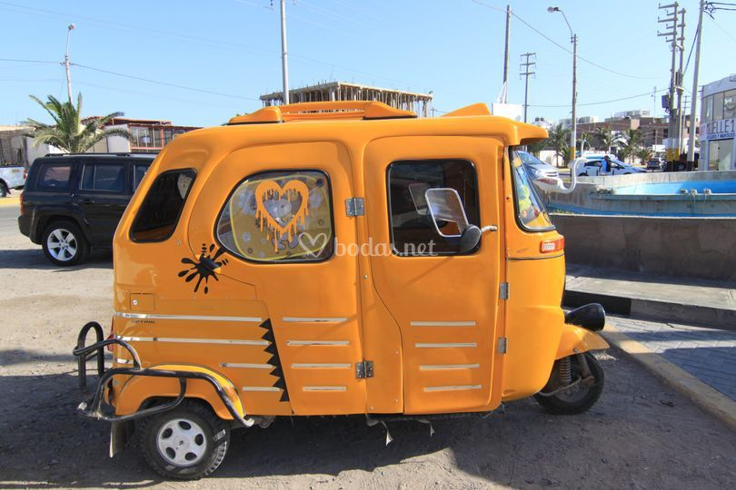Taxis en Perú