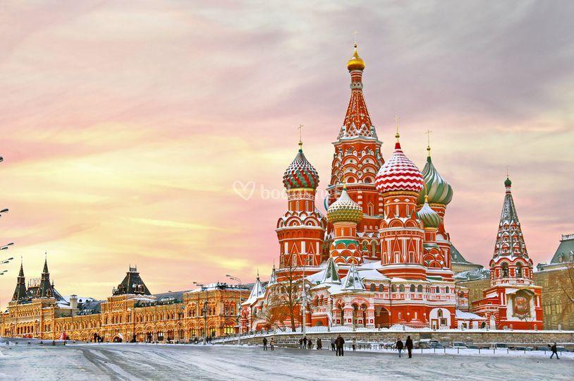 Visitando Russia