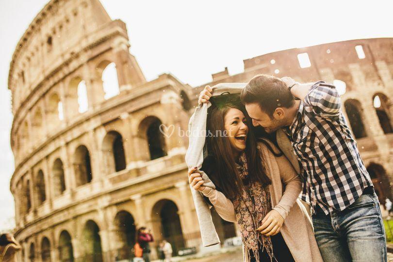 La romántica Italia