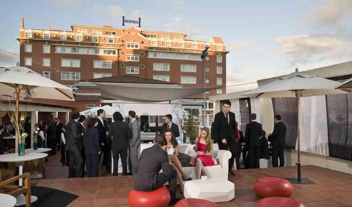 Cocktail en la terraza