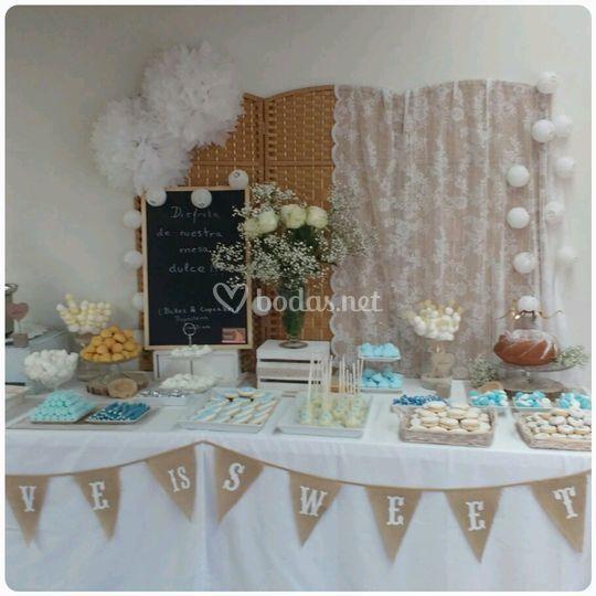 Bonita mesa dulce