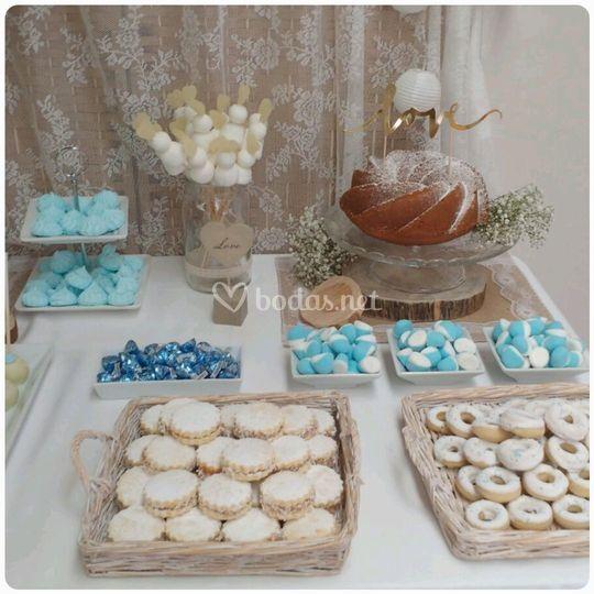 Detalles para la mesa dulce