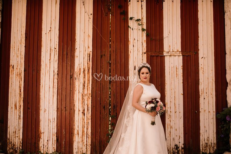 Boda, vestido de novia