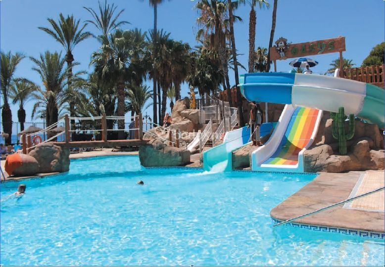 Toboganes Hotel De Playadulce Hotel Foto 50