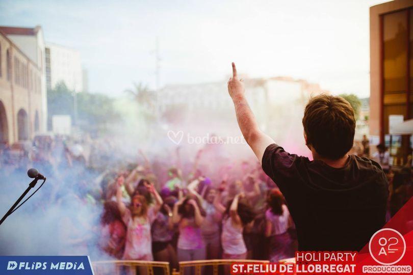 Sant Feliu Holi Festival 2016