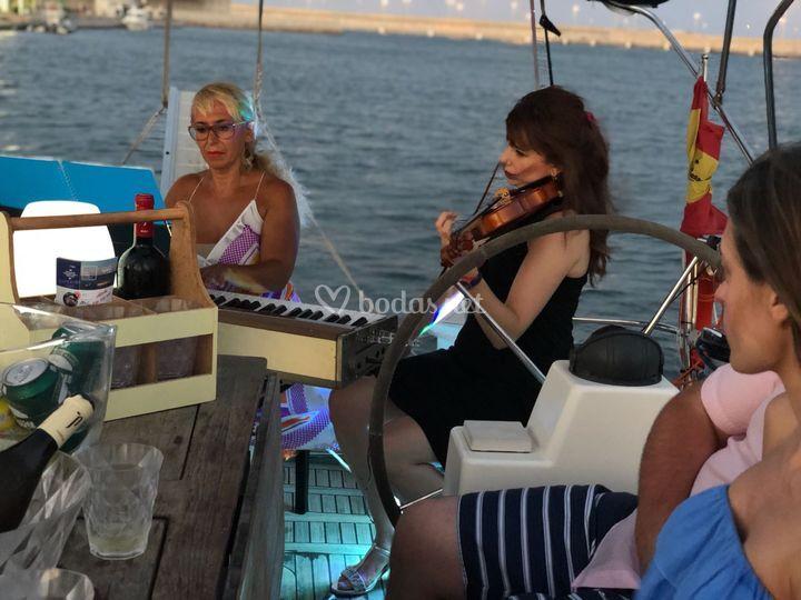 Música barco