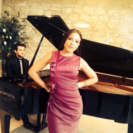 Boda a piano y voz