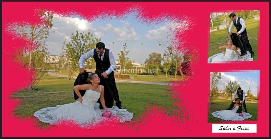 Montaje reportaje de boda
