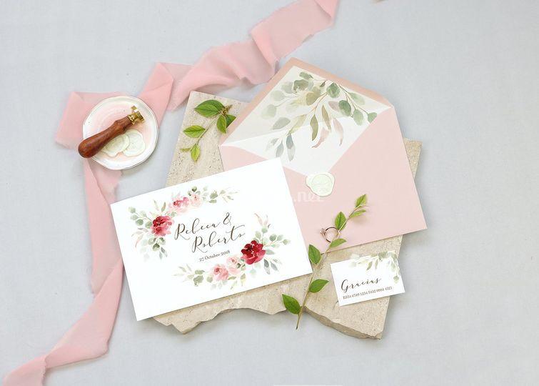 Invitación Chérie