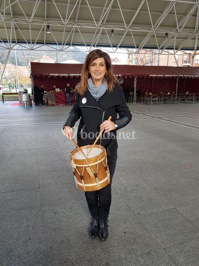 Percusionista gallega